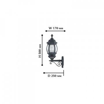 Схема с размерами Favourite 1806-1W