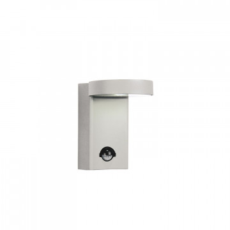 Настенный светодиодный светильник Favourite Flicker 1827-1W, IP44, 4000K (дневной), алюминий, металл, стекло
