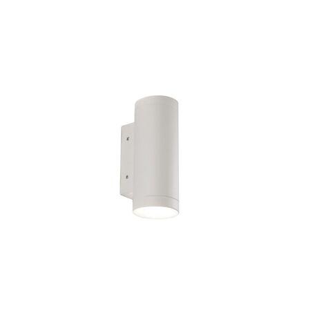 Настенный светодиодный светильник Favourite Flicker 1829-2W, IP65, LED 6W 4000K, белый, металл, стекло