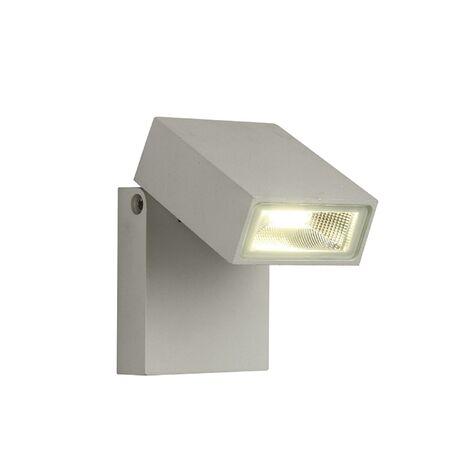 Настенный светодиодный светильник с регулировкой направления света Favourite Flicker 1823-1W, IP65, LED 10W 4000K, алюминий, металл, стекло