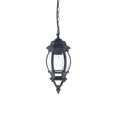 Подвесной светильник Favourite Paris 1806-1P, IP44, 1xE27x100W, бирюзовый, прозрачный, металл, металл со стеклом