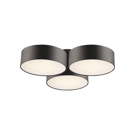 Потолочная люстра Favourite Cerchi 1514-6C, 6xE27x25W, черный, белый, металл, пластик