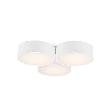Потолочная люстра Favourite Cerchi 1515-6C, 6xE27x25W, белый, металл, пластик