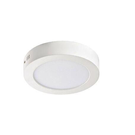 Потолочный светодиодный светильник Favourite FlashLED 2 1347-12C, IP21, LED 12W 860lm, белый, металл с пластиком, пластик