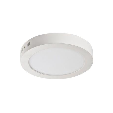 Потолочный светодиодный светильник Favourite FlashLED 1347-24C, IP21, LED 24W 1480lm, белый, металл с пластиком, пластик