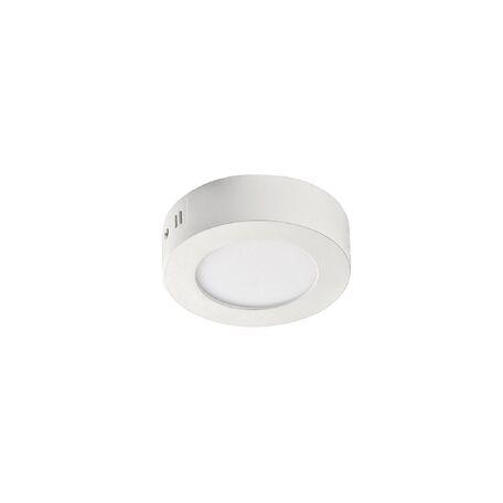 Потолочный светодиодный светильник Favourite FlashLED 2 1347-6C, IP21, LED 6W 390lm, белый, металл с пластиком, пластик