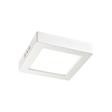 Потолочный светодиодный светильник Favourite FlashLED 2 1349-12C, IP21, LED 12W 860lm, белый, металл с пластиком, пластик