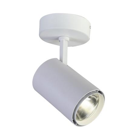 Потолочный светодиодный светильник Favourite Projector 1773-1U, IP21, LED 20W 1600lm CRI>80, белый, металл