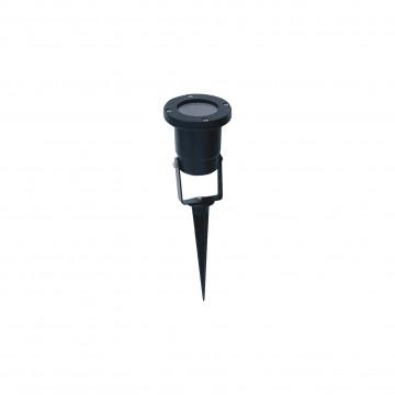 Прожектор Favourite Relief 1834-1T, IP65, 1xGU10x50W, черный, металл, стекло