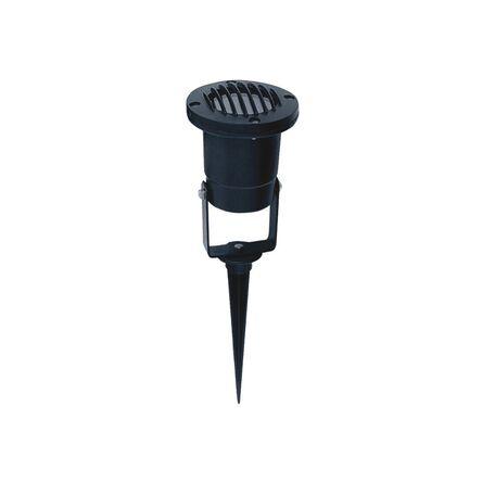 Прожектор с колышком Favourite Relief 1833-1T, IP65, 1xGU10x50W, черный, металл, стекло
