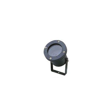 Прожектор Favourite Relief 1832-1W, IP65, 1xGU10x50W, черный, металл, стекло