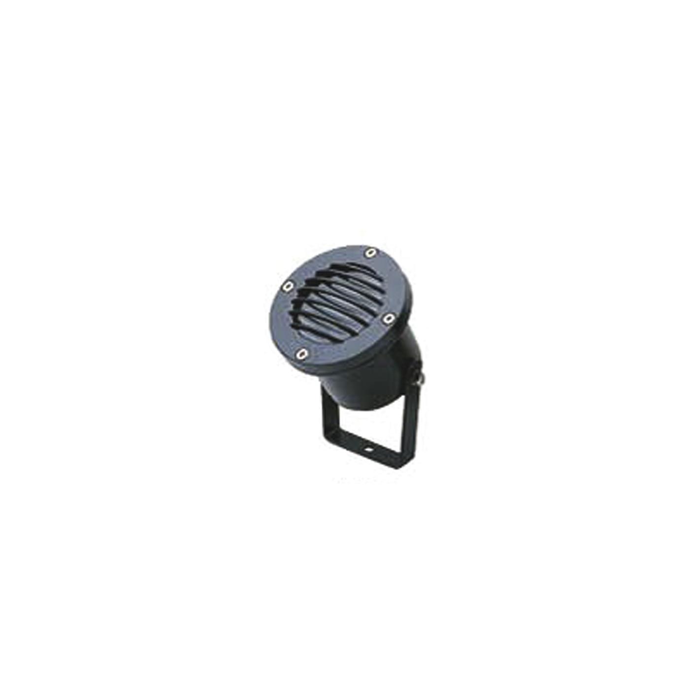 Прожектор Favourite Relief 1831-1W, IP65, 1xGU10x50W, черный, металл, стекло - фото 1