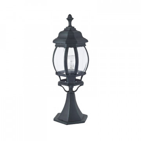 Садово-парковый светильник Favourite Paris 1806-1T, IP44, 1xE27x100W, бирюзовый, прозрачный, металл, металл со стеклом