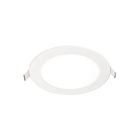 Встраиваемая светодиодная панель Favourite FlashLED 1341-12C, IP21, LED 12W, белый, металл с пластиком, пластик