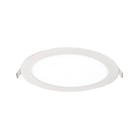 Встраиваемая светодиодная панель Favourite FlashLED 1341-24C, IP21, LED 24W, белый, металл с пластиком, пластик