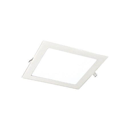 Встраиваемая светодиодная панель Favourite FlashLED 1 1345-18C, IP21, LED 18W, белый, металл с пластиком, пластик