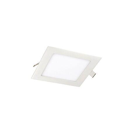 Встраиваемая светодиодная панель Favourite FlashLED 1 1345-6C, IP21, LED 6W, белый, металл с пластиком, пластик