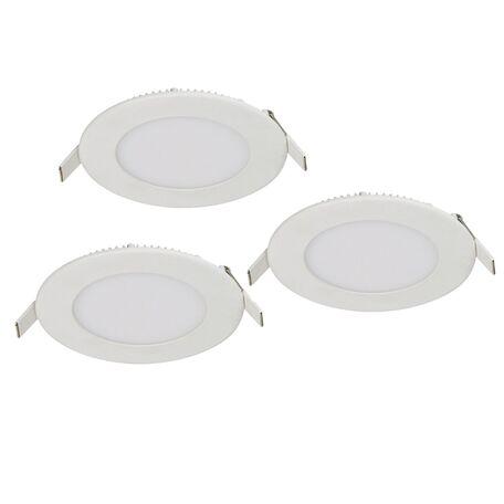 Встраиваемая светодиодная панель Favourite FlashLED 1660-3C, IP21, LED 3W, белый, металл с пластиком, пластик