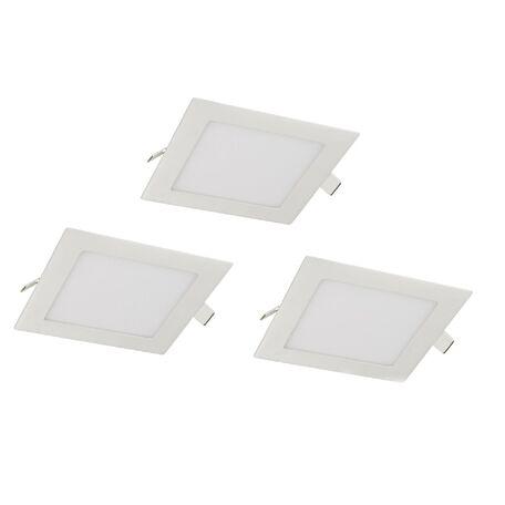 Встраиваемая светодиодная панель Favourite FlashLED 1661-3C, IP21, LED 3W, белый, металл с пластиком, пластик