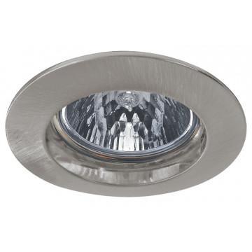 Встраиваемый светильник Paulmann Premium Halogen IP44 12V GU5,3 51mm 17945, IP44, 1xGX5.3x50W, матовый хром, металл