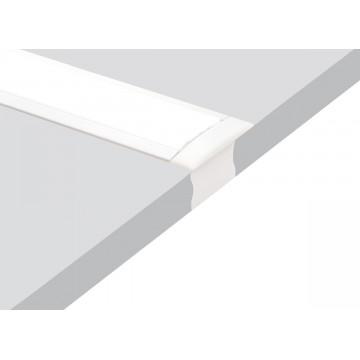 Встраиваемый профиль для светодиодной ленты без рассеивателя Donolux DL18501RAL9003, белый