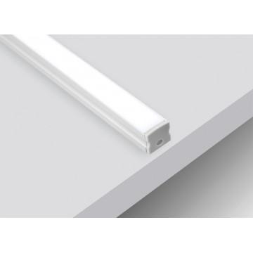 Накладной профиль для светодиодной ленты без рассеивателя Donolux DL18505RAL9003, белый