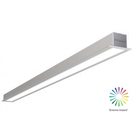 Встраиваемый светодиодный светильник Donolux Line In DL18502M150WW30, LED 28,8W, 3000K (теплый)