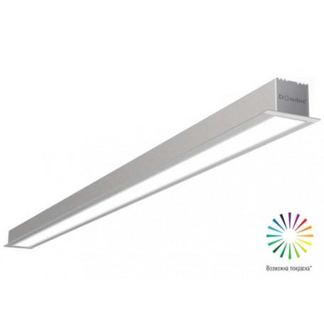 Встраиваемый светодиодный светильник Donolux Line In DL18502M200WW40, LED 38,4W, 3000K (теплый)