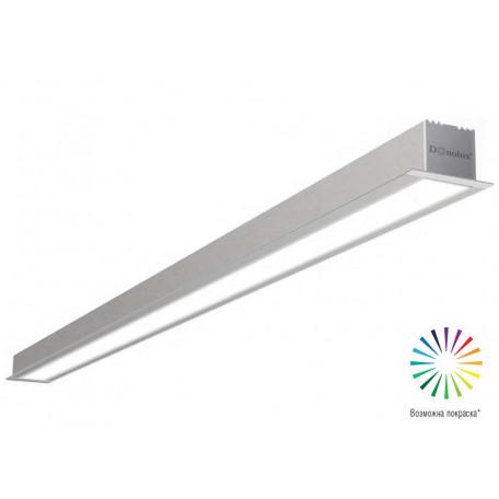 Встраиваемый светодиодный светильник Donolux Line In DL18502M200WW60, LED 57,6W, 3000K (теплый)