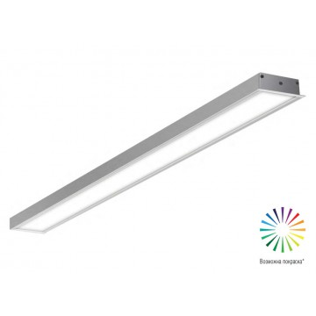 Встраиваемый светодиодный светильник Donolux Line In DL18512M100WW40, LED 38,4W, 3000K (теплый)