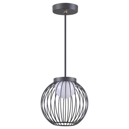 Подвесной светодиодный светильник Novotech Street Carrello 358288, IP65, LED 7W 4000K 420lm, темно-серый, металл