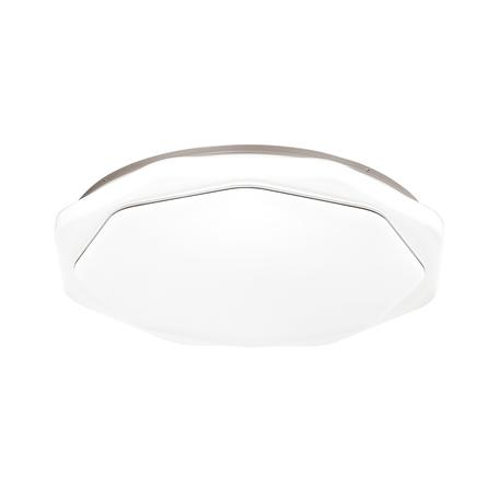 Потолочный светодиодный светильник с пультом ДУ Sonex Vesta 3002/DL, IP43, LED 48W 340036503800lm, белый, металл, пластик