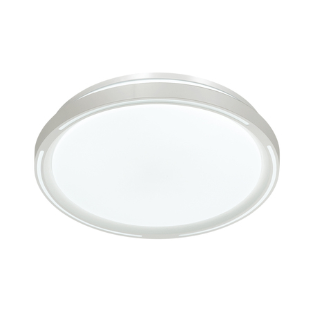 Потолочный светодиодный светильник с пультом ДУ Sonex Slot 3010/DL, IP43, LED 48W 340036503800lm, белый, металл, пластик