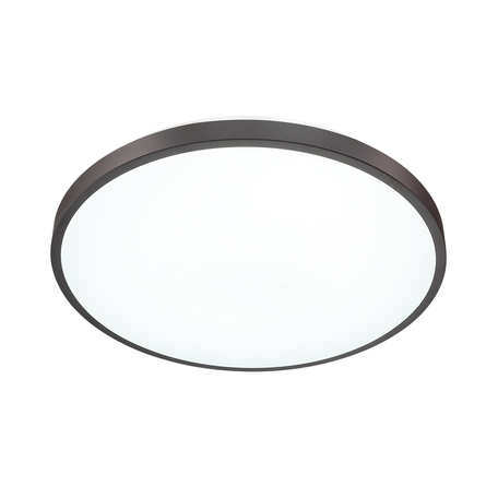 Потолочный светодиодный светильник Sonex Smalli 3012/DL, IP43, LED 48W 340036503800lm, белый, черный с белым, металл, пластик