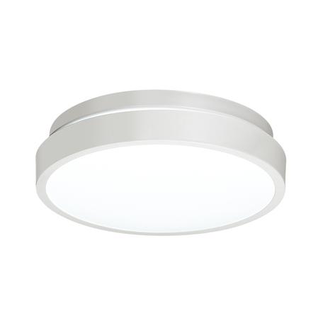 Потолочный светодиодный светильник Sonex Smalli 3014/AL, IP43, LED 12W 4000K 1100lm, белый, металл, пластик