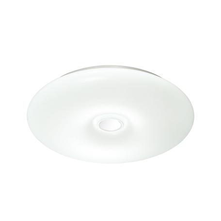 Потолочный светодиодный светильник с пультом ДУ Sonex Point 3021/DL, IP43, LED 48W 340036503800lm, белый, хром, металл, пластик