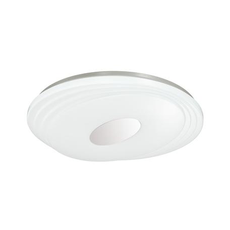 Потолочный светодиодный светильник Sonex Seka 3027/DL, IP43, LED 48W RGB 2800-3050lm, белый, белый с хромом, металл, пластик