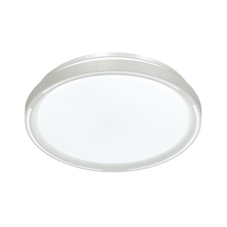 Потолочный светодиодный светильник Sonex Slot 3028/DL, IP43, LED 48W RGB 2800-3050lm, белый, металл, пластик