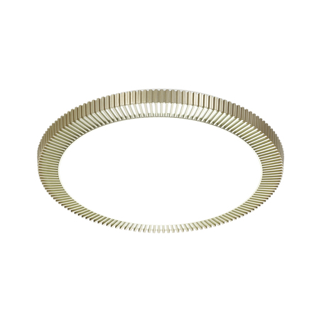 Потолочный светодиодный светильник с пультом ДУ Sonex Lerba Gold 3032/DL, IP43, LED 48W 340036503800lm, белый, матовое золото, металл, пластик