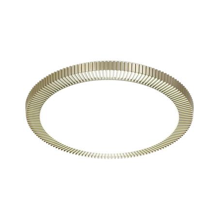 Потолочный светодиодный светильник Sonex Lerba Gold 3032/EL, IP43, LED 72W 520056005800lm, белый, матовое золото, металл, пластик