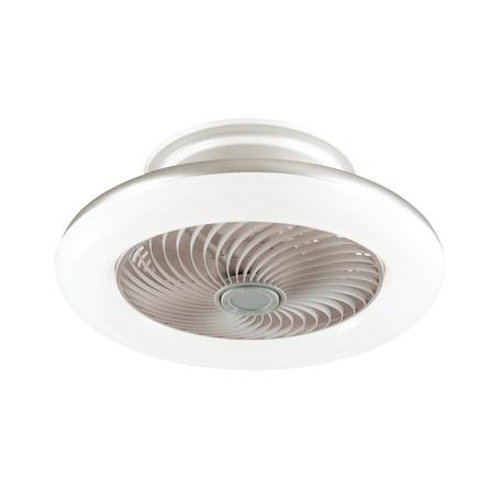 Потолочный светодиодный светильник-вентилятор с пультом ДУ Sonex Vasta LED Fan White 3036/72EL, LED 72W 318034804600lm, белый, металл, металл с пластиком