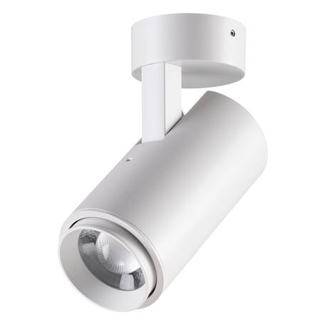 Потолочный светодиодный светильник с регулировкой направления света Novotech Kaimas 358290, IP54, LED 9W 4000K 630lm, белый, металл
