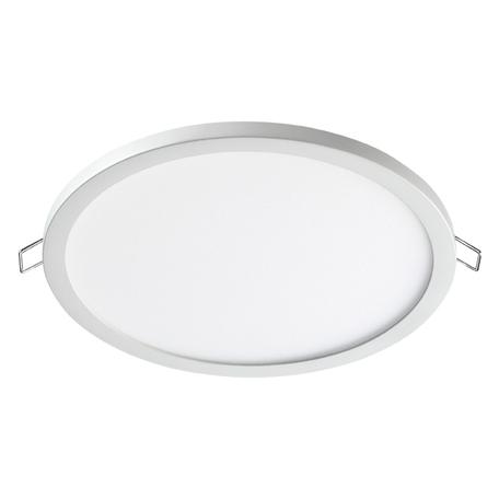 Встраиваемая светодиодная панель Novotech Spot Stea 358269, LED 20W 4000K 1600lm, белый, металл с пластиком