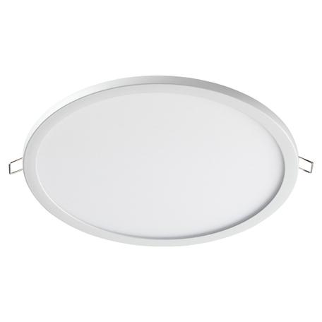 Встраиваемая светодиодная панель Novotech Spot Stea 358270, LED 24W 4000K 1920lm, белый, металл с пластиком