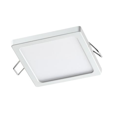 Встраиваемая светодиодная панель Novotech Spot Stea 358271, LED 8W 4000K 560lm, белый, металл с пластиком