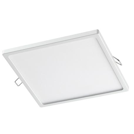 Встраиваемая светодиодная панель Novotech Spot Stea 358273, LED 20W 4000K 1600lm, белый, металл с пластиком