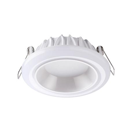 Светодиодная панель Novotech Spot Joia 358279, LED 12W 4000K 840lm, белый, металл с пластиком