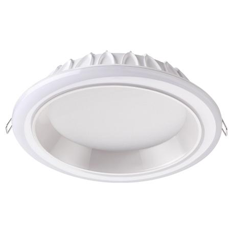 Светодиодная панель Novotech Spot Joia 358281, LED 32W 4000K 2560lm, белый, металл с пластиком