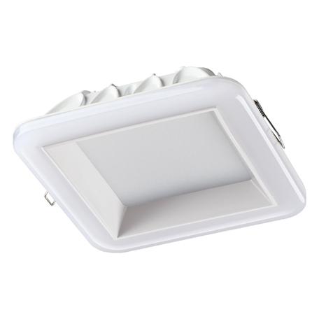 Светодиодная панель Novotech Spot Joia 358284, LED 22W 4000K 1760lm, белый, металл с пластиком