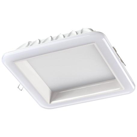 Светодиодная панель Novotech Spot Joia 358285, LED 32W 4000K 2560lm, белый, металл с пластиком